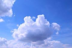 bluen clouds skyen Fotografering för Bildbyråer