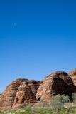 bluen förfuskar skyen Royaltyfri Fotografi