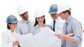 архитекторы blueprint сь изучать Стоковое Изображение RF