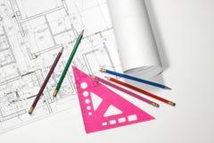 Blueprint Royalty Free Stock Photos