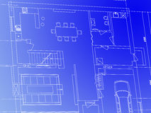 Blueprint royalty free illustration