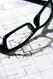 The Blueprint stock photo