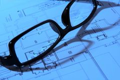 The Blueprint royalty free stock photo