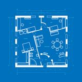 Blueprint abstract Stock Images