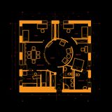 Blueprint abstract Royalty Free Stock Images