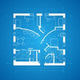 Blueprint abstract Royalty Free Stock Photo