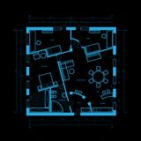 Blueprint abstract Royalty Free Stock Image