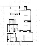 Blueprint of an appartment Royalty Free Stock Photos