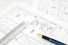Blueprint Stock Photography