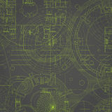 Blueprint. Stock Images