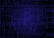 Blueprint background Royalty Free Stock Images