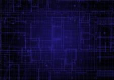 Blueprint background. Minimal background for minimal design Royalty Free Stock Images