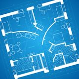 Blueprint background Royalty Free Stock Images