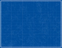 Blueprint Background. With texture added - easily removed in the .eps file Stock Photo
