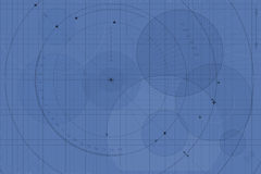 Blueprint background Stock Photography