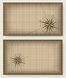 Blueprint background with compass rose. royalty free illustration