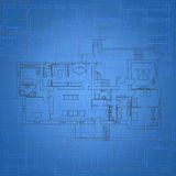 Blueprint Background Royalty Free Stock Image