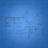 Blueprint Background vector illustration