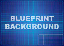 Blueprint background. Technical design paper. Stock Photography