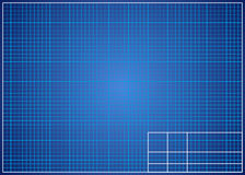 Blueprint background. Technical design paper. Royalty Free Stock Photo
