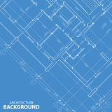 Blueprint best architecture background Royalty Free Stock Photos