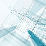 Blueprint concept Royalty Free Stock Image
