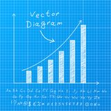 Blueprint Diagram Royalty Free Stock Image
