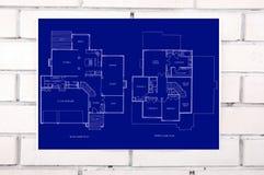 Blueprint Royalty Free Stock Image