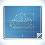 Blueprint Icon Stock Photo