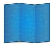 Blueprint Paper Royalty Free Stock Images