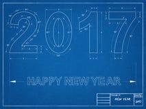 2017 Blueprint Stock Photos