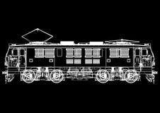blueprint ilustração do vetor