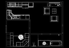 blueprint ilustração royalty free