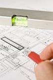 blueprints конструкция стоковая фотография rf