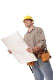 blueprints передний смотреть Стоковая Фотография