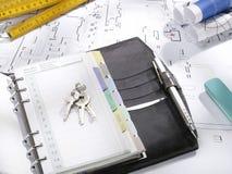 blueprints серия Стоковое фото RF