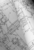 Blueprints 1 Royalty Free Stock Images