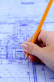 Blueprints Stock Photography
