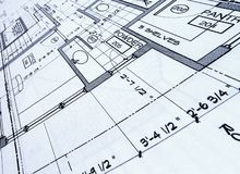 Blueprints Stock Photos