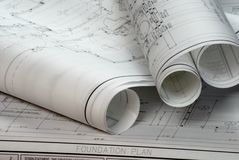 Free Blueprints Royalty Free Stock Image - 4673146