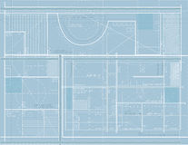 Blueprints Background Royalty Free Stock Photography