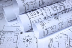 Free Blueprints For Home, Office Stock Photo - 15385680
