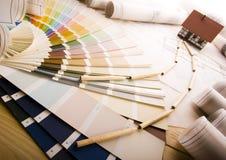Blueprints & House Stock Photos