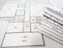 Blueprints royalty free stock image