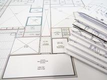 Blueprints Royalty Free Stock Image