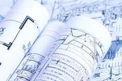Blueprints Stock Images