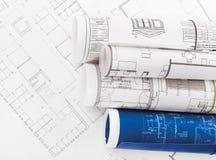 Blueprints Stock Photography
