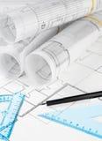 Blueprints Stock Images