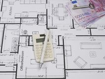 Blueprints Serie stockfotos