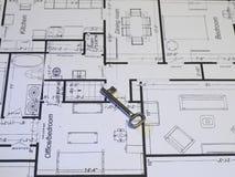 Blueprints Serie lizenzfreie stockfotografie